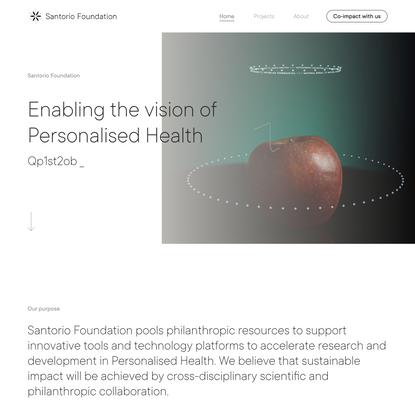 Home - Santorio Foundation