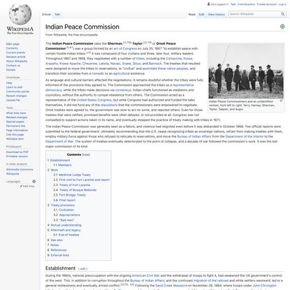 Indian Peace Commission - Wikipedia