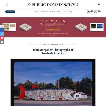 John Margolies' Photographs of Roadside America