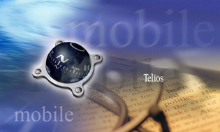 Sharp Telios Wallpaper (2000)