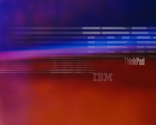"""IBM ThinkPad """"Colors"""" wallpaper (unknown year)"""