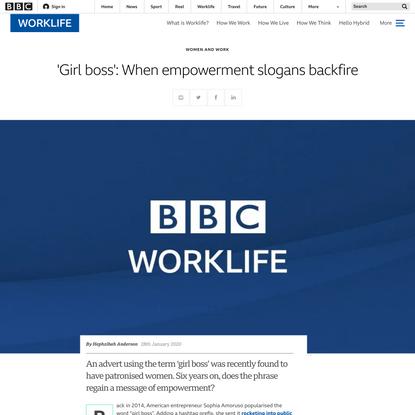 'Girl boss': When empowerment slogans backfire