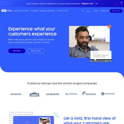 UserTesting: The Human Insight Platform