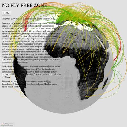 No Fly Free Zone