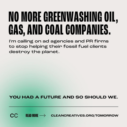 No more greenwashing