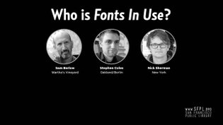 What's The Use of Fonts In Use with Stephen Coles