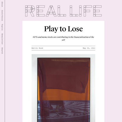 Play to Lose — Real Life