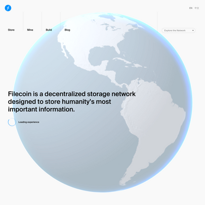 A decentralized storage network for humanity's most important information | Filecoin