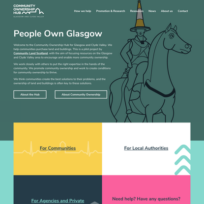 Community Ownership Hub Glasgow and Clyde Valley