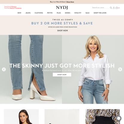 NYDJ   The Original Slimming Jeans   Women's Premium Jeans