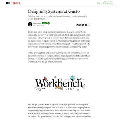 Design Systems at Gusto