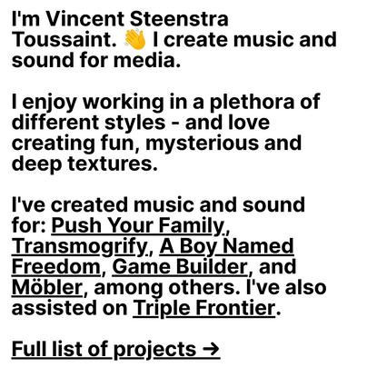 Vincent Steenstra Toussaint