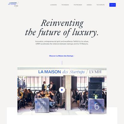 La Maison des startups LVMH