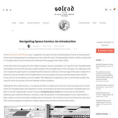Navigating Space Comics: An Introduction - SOLRAD