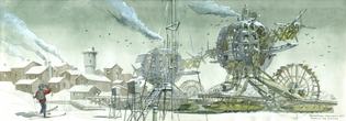 Architectural Fantasy by Alexandr Krylov