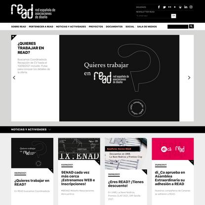 READ · Red Española de Asociaciones de Diseño