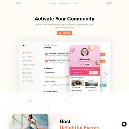 Luma - Activate Your Community