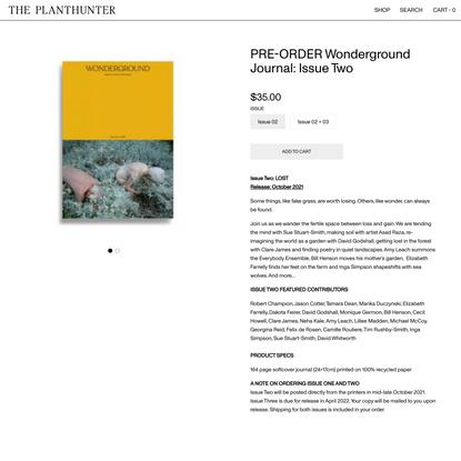 Shop - The Planthunter
