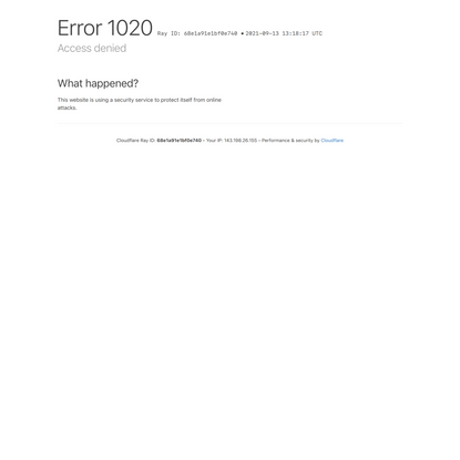Access denied | www.woodwood.com used Cloudflare to restrict access