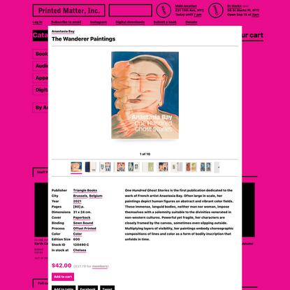 Anastasia Bay - The Wanderer Paintings - Printed Matter
