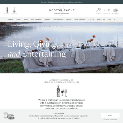 Weston Table   Everyday Extraordinary Kitchenware, Tableware & Décor