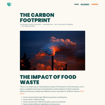 The carbon footprint | Too Good To Go