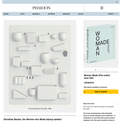 Dorothee Becker, the Woman who Made tidying tasteful | design | Phaidon