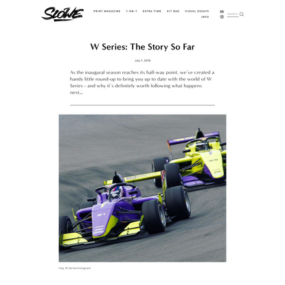 W Series: The Story So Far — %