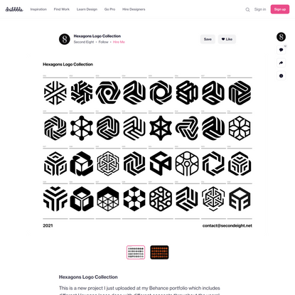 Hexagons Logo Collection