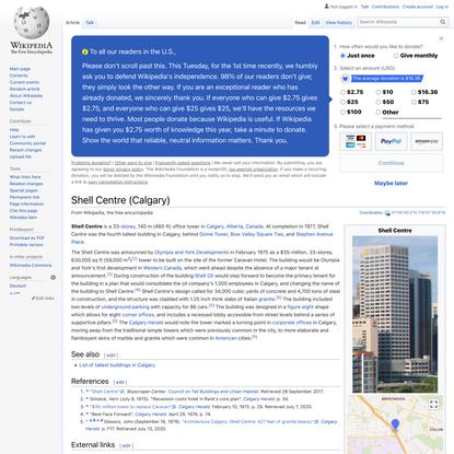 Shell Centre (Calgary) - Wikipedia