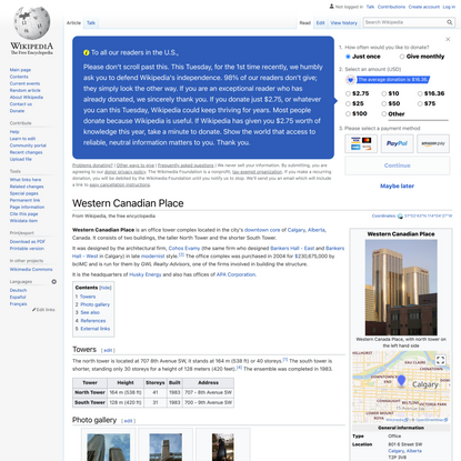 Western Canadian Place - Wikipedia