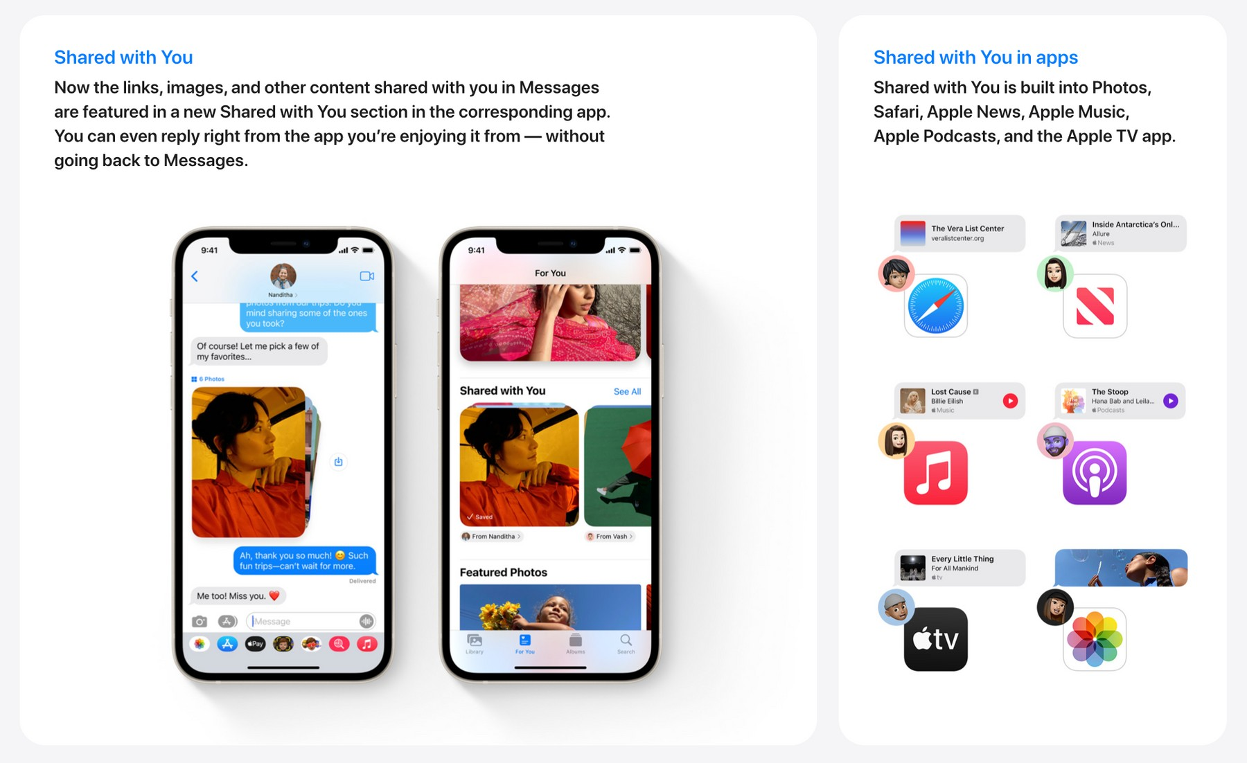 iOS 15 — Messages