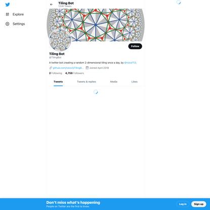 Tiling Bot (@TilingBot) / Twitter