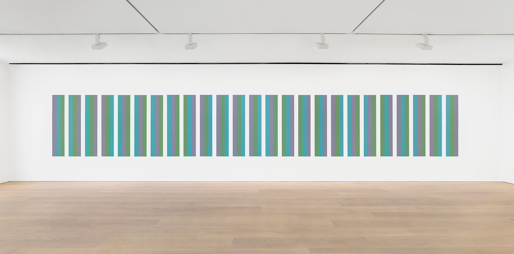 Bridget Riley, Intervals Wall Painting, 2021