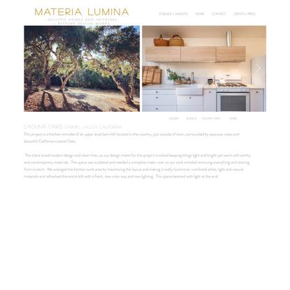 LAGUNA OAKS | materia-lumina