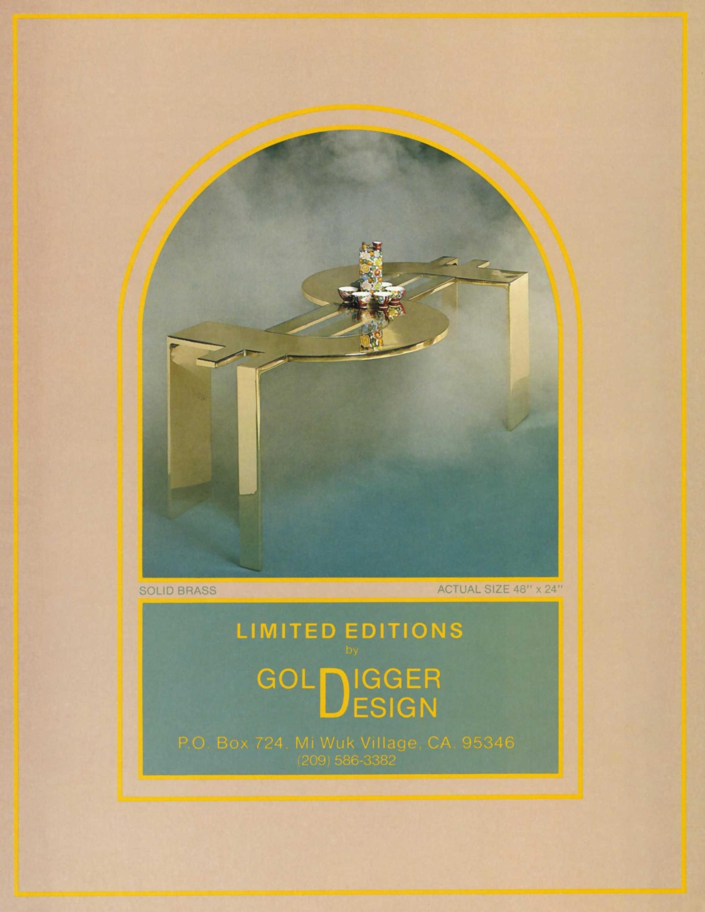 Goldigger Design ad (1983)