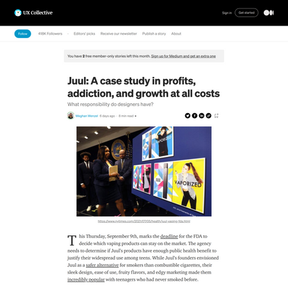 Juul: A case study in profits, addiction, and growth at all costs