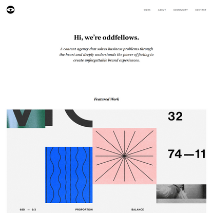 Oddfellows — Content Agency