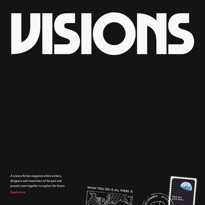 Visions - A Literary Science Fiction Magazine