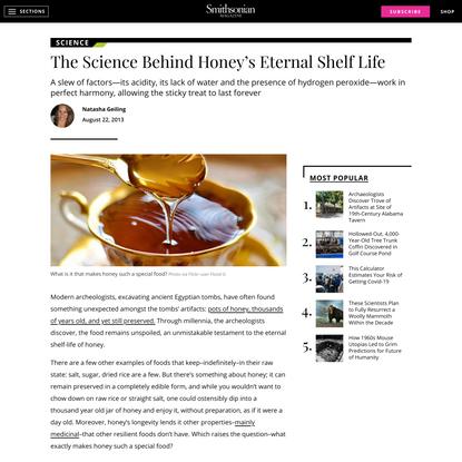 The Science Behind Honey's Eternal Shelf Life