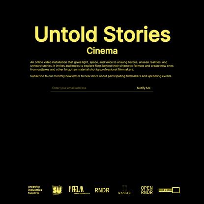 Untold Stories Cinema