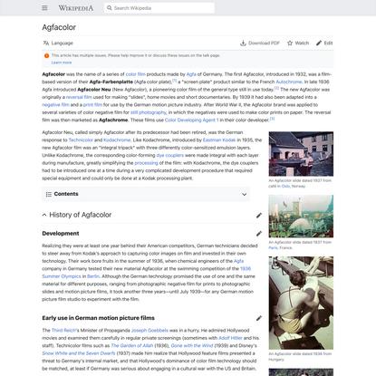 Agfacolor - Wikipedia