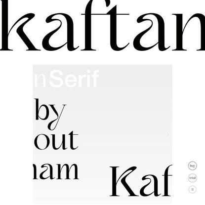 Kaftan-Serif - Victor Bartis