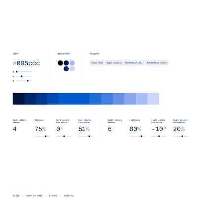 Scale — color scale generator