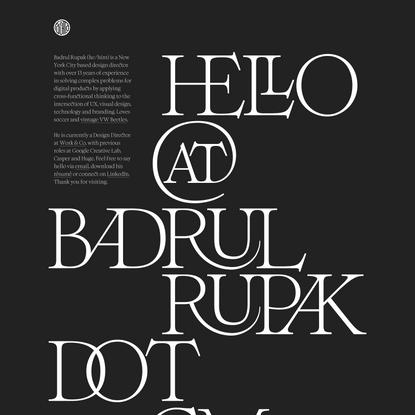 Badrul Rupak