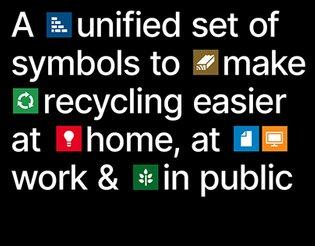 National Recycling Symbols