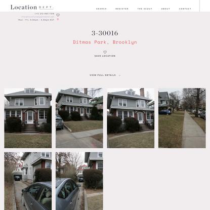 3-30016 - Location Department