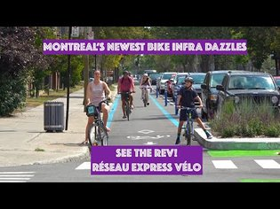 Biking Montreal: Montreal's Newest Bicycling Infrastructure Dazzles!