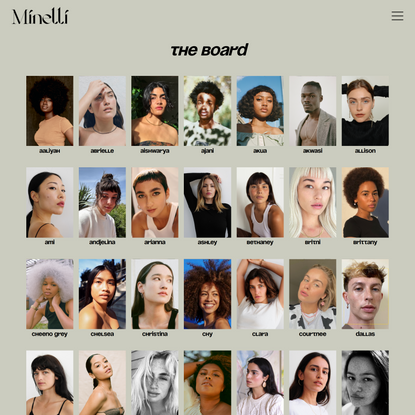 The Board - Minelli Model Management