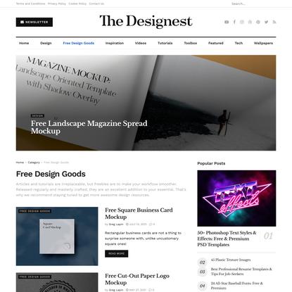 Free Design Goods on The Designest